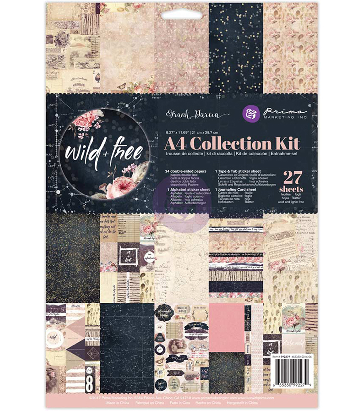 Prima Marketing Collection Kit A4-Frank Garcia Wild & Free