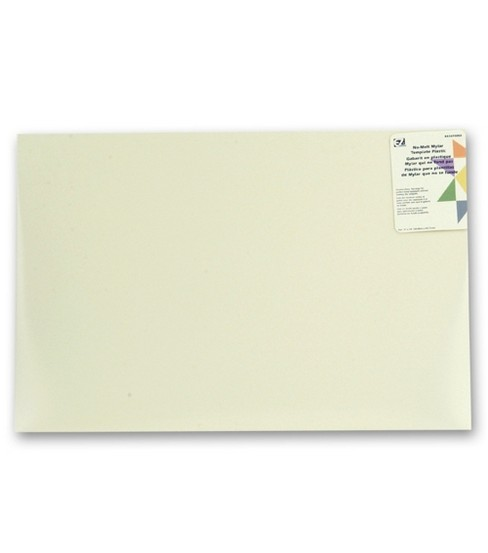 "Wrights® Quilter's No-Melt Template-12""X18"""