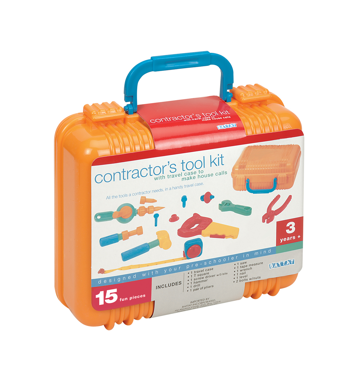 Busy Kids Learning Battat Contractor\u0027s Tool Kit
