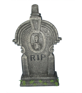 Maker\u0027s Halloween Large Tombstone-RIP