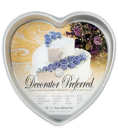 Wilton® Decorator Preferred 10\u0022 Heart Pan
