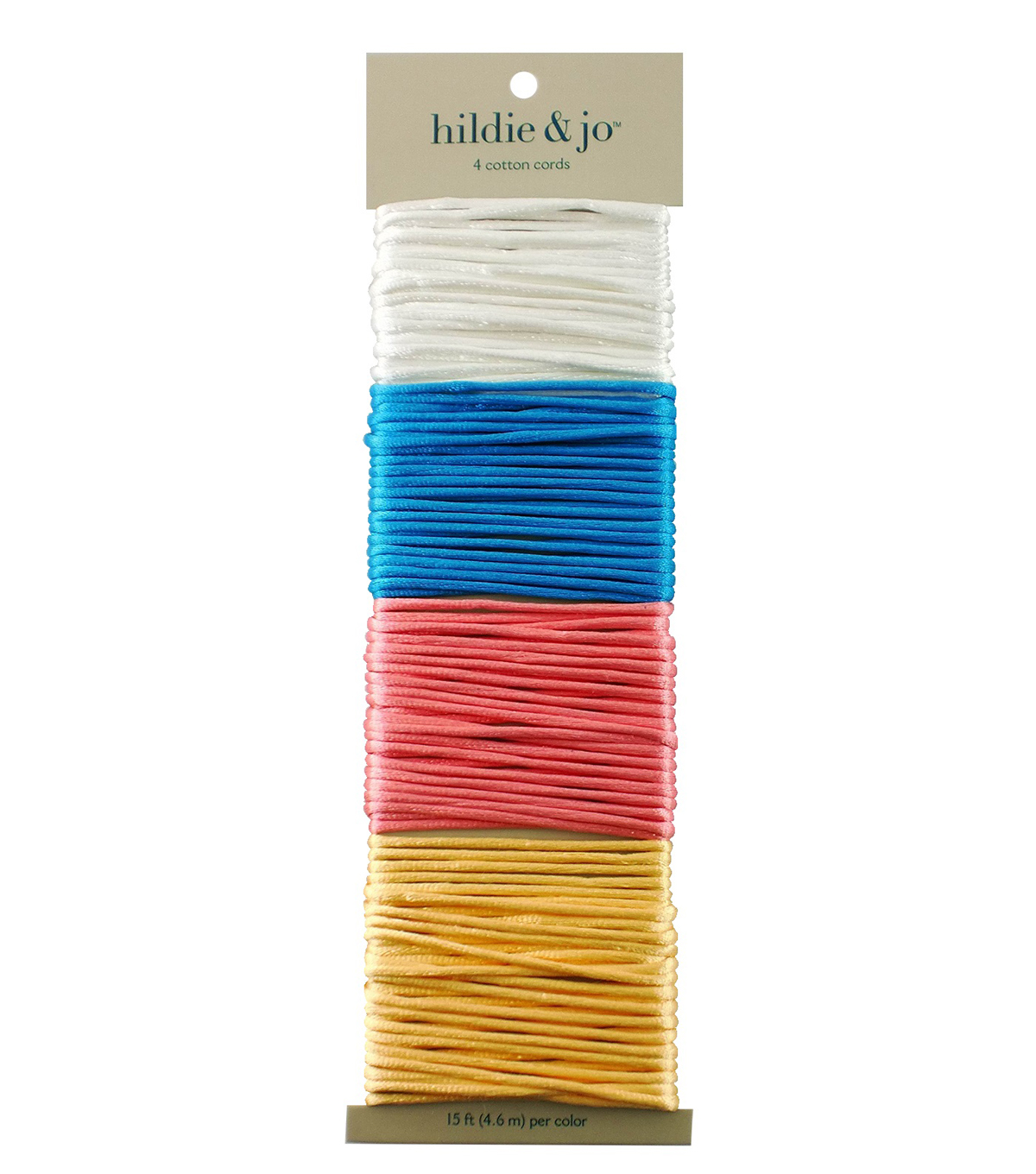 Jewelry Fundamentals Cords & More Silky Cord Variety Pack, Boardwalk