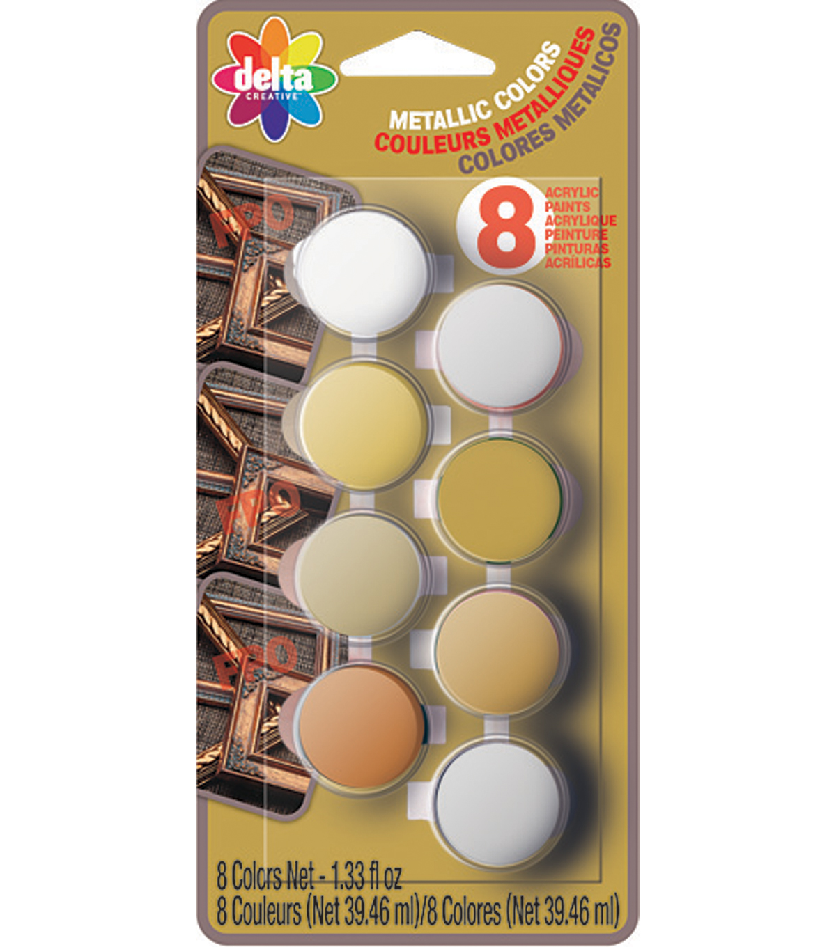 Delta Acrylic Paint Sets-Metallic