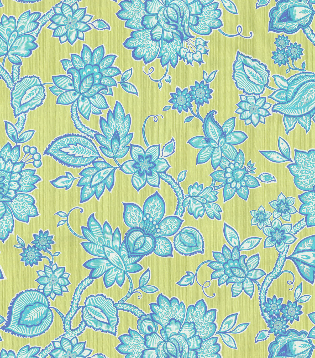 "Waverly Print Fabric 54""-Floral Flair/Celestial"