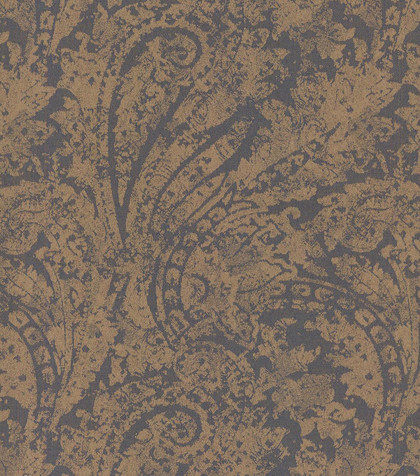 "Waverly Upholstery Fabric 55""-Burnished Scroll/Mica"