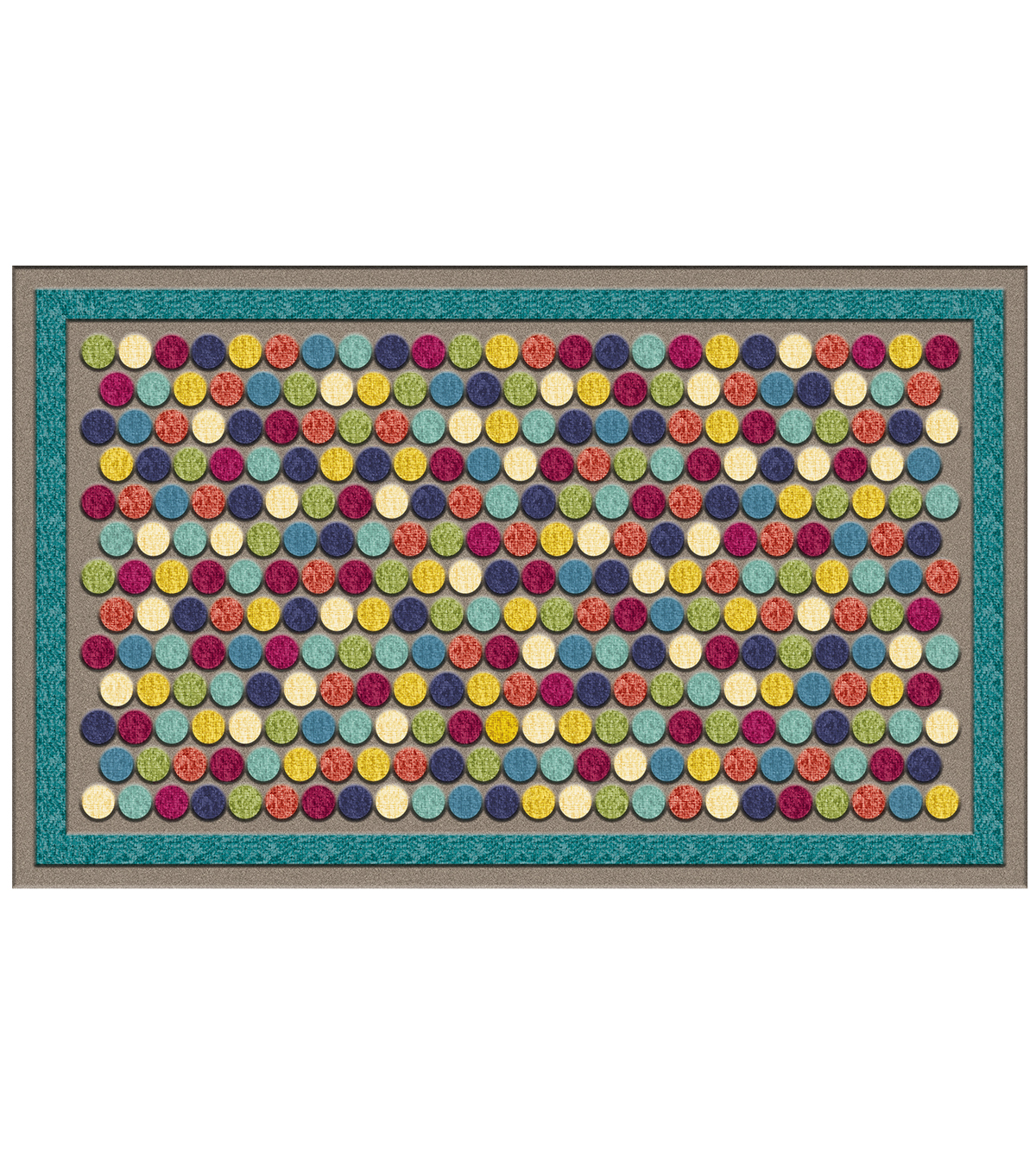 Mohawk Home Impressions 18''x30'' Doormat-Colorful Dots