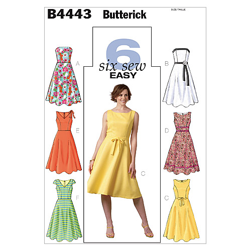 Butterick Misses Dress-B4443