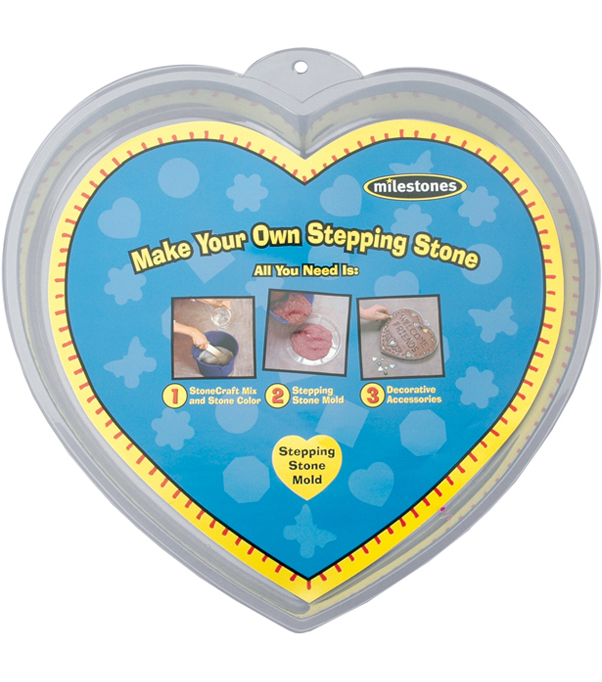 Stone Craft Stepping Stone Molds-12\u0027\u0027