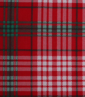 Holiday Showcase™ Christmas Cotton Fabric 43\u0027\u0027-Plaid