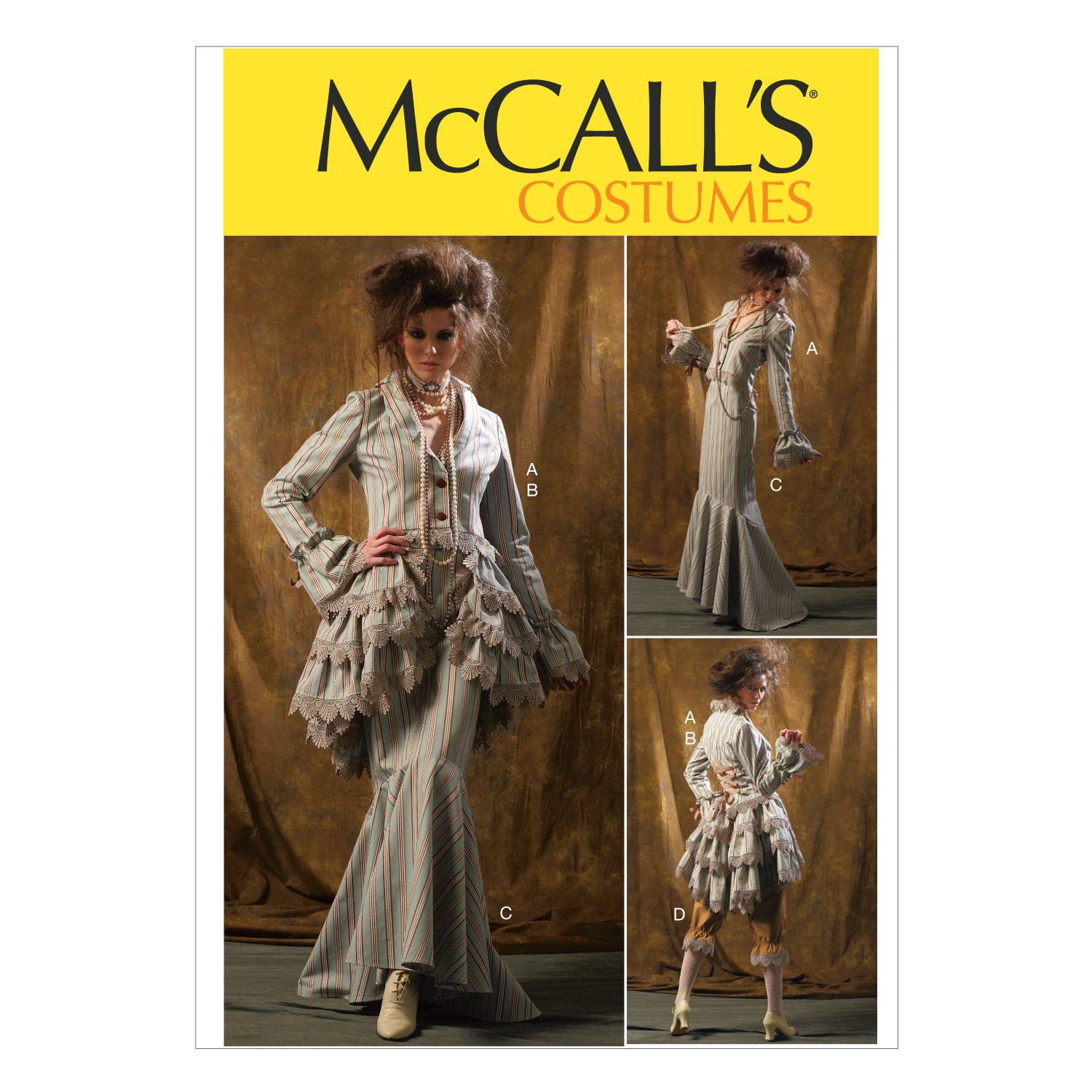 McCall's Misses Costumes-M6770