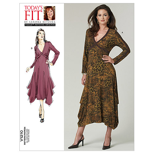 Mccall Pattern V1210 All Sizes -Vogue Pattern