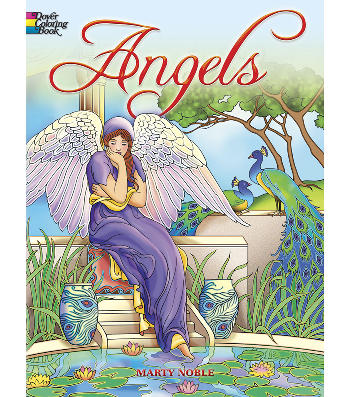 Adult Coloring Book-Dover Publications Angels