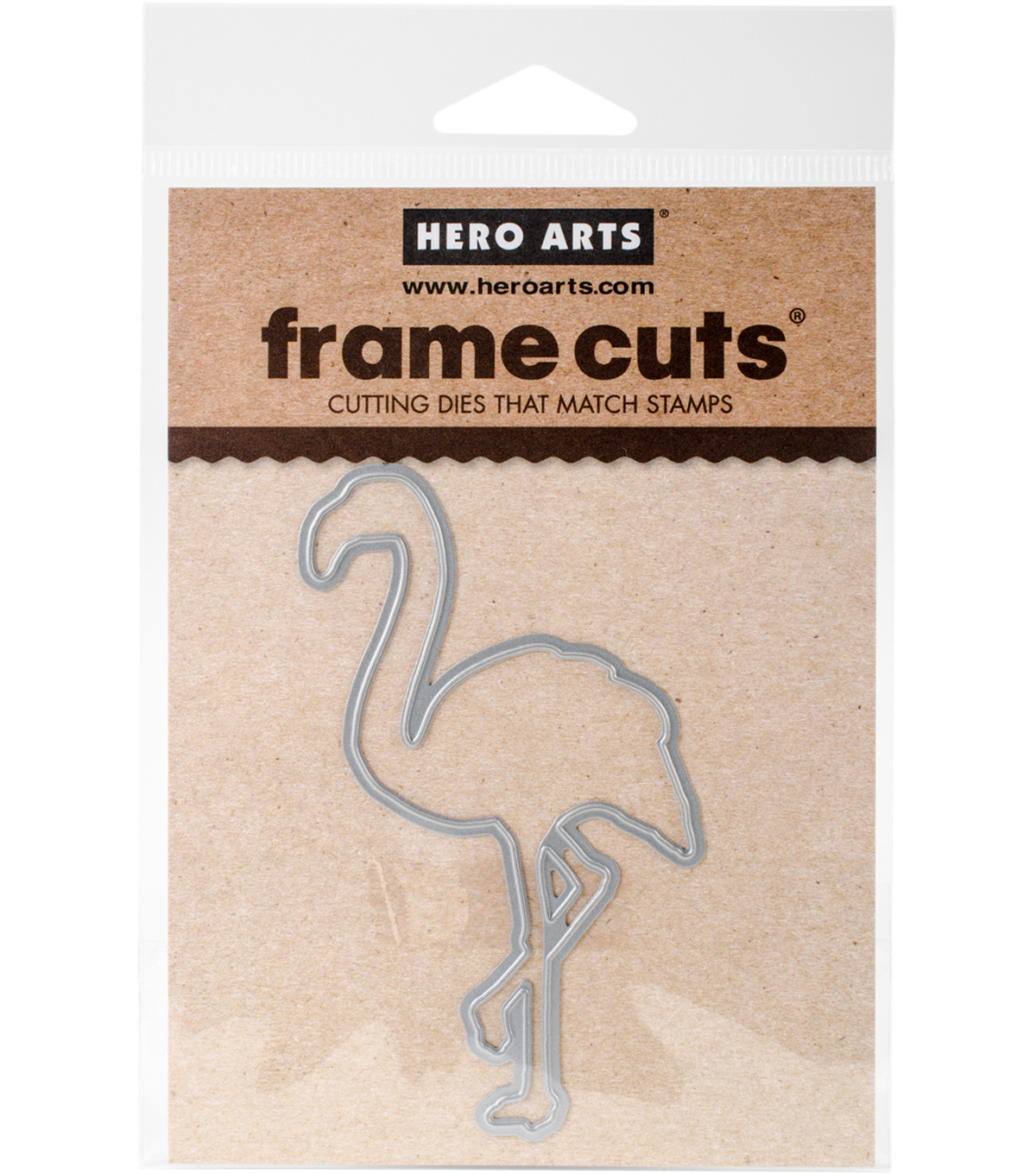 Hero Arts Color Layering Frame Cut Dies-Flamingo
