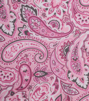 Keepsake Calico™ Cotton Fabric 43\u0022-Multi Pink Paisley