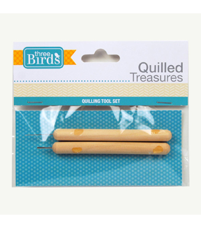 Three Birds-Quilled Treasures-Quilling Tool Set