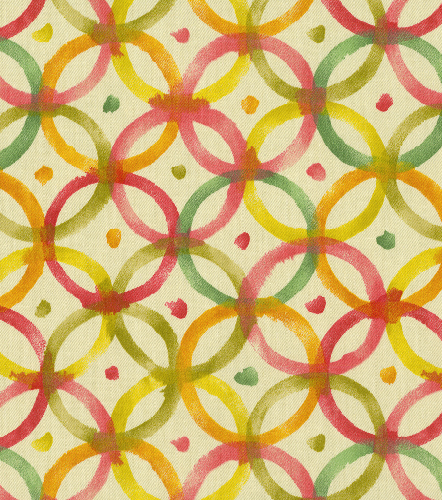 Home Decor 8\u0022x8\u0022 Fabric Swatch-Waverly Screen Gem Poppy