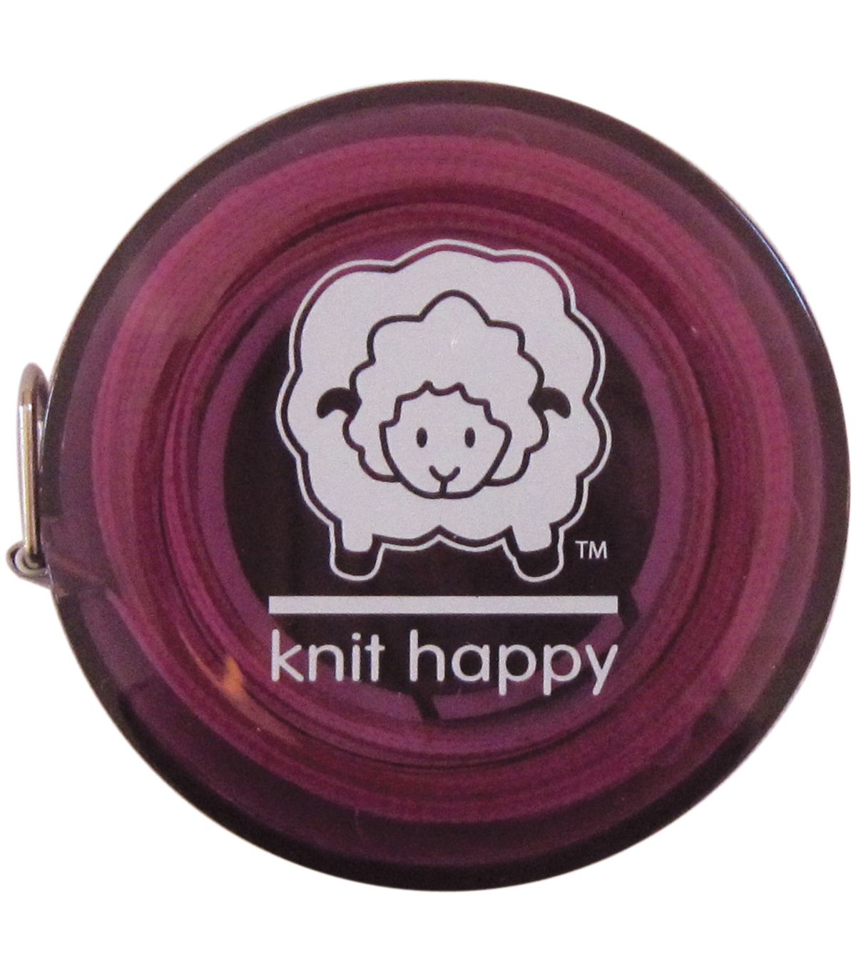 Knit Happy Tape Measure 60\u0022-Purple