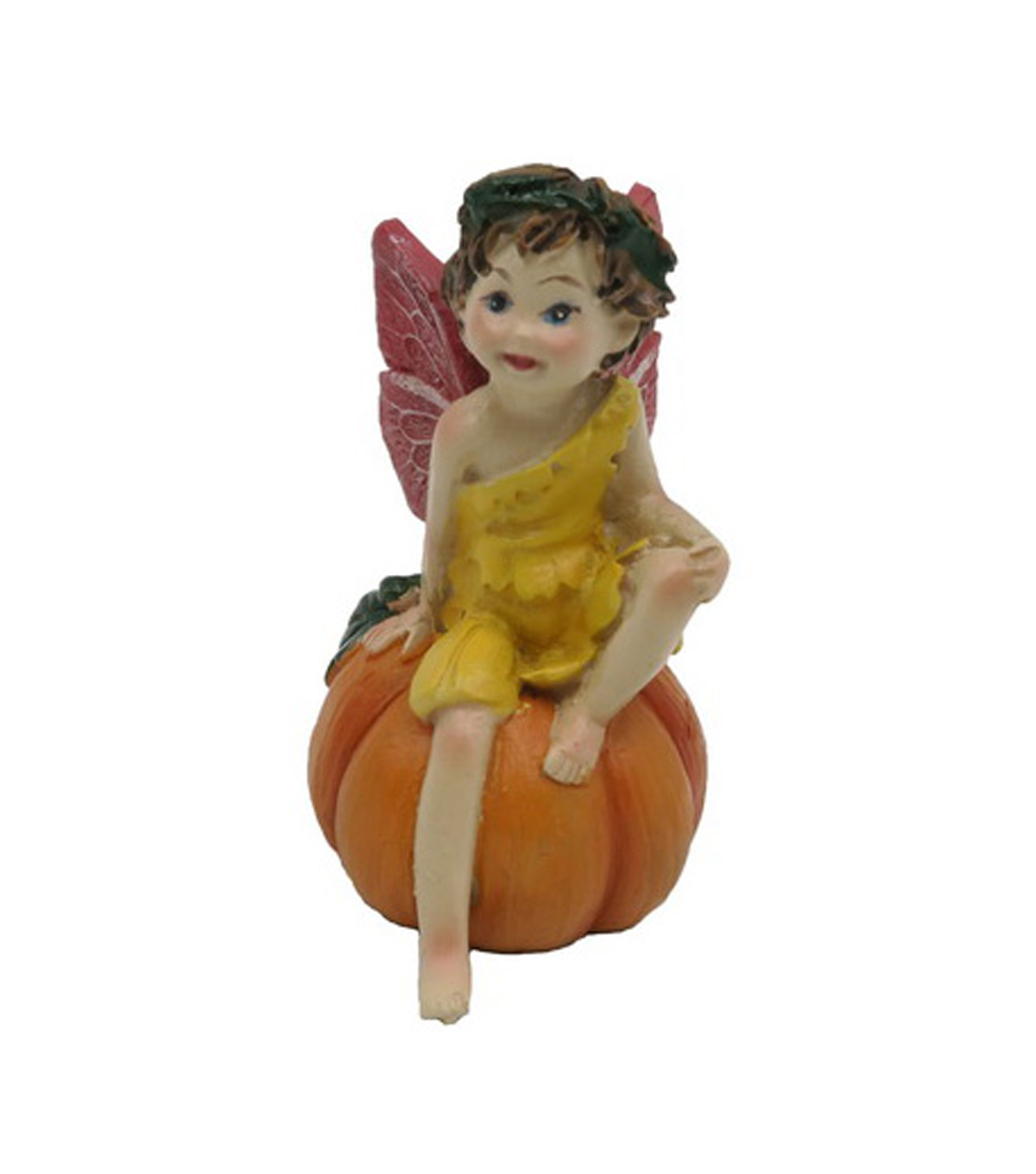 Fall Into Color Littles Fairy on Pumpkin