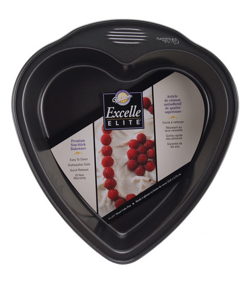 Wilton® Excelle Elite Heart Cake Pan