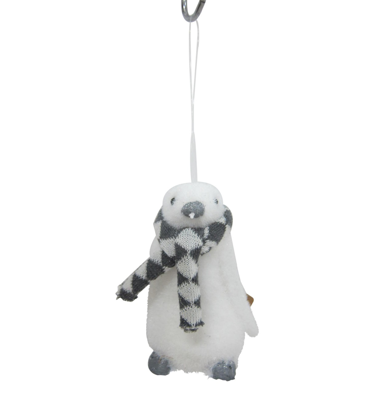 Maker\u0027s Holiday Christmas Arctic Frost Penguin with Scarf Ornament