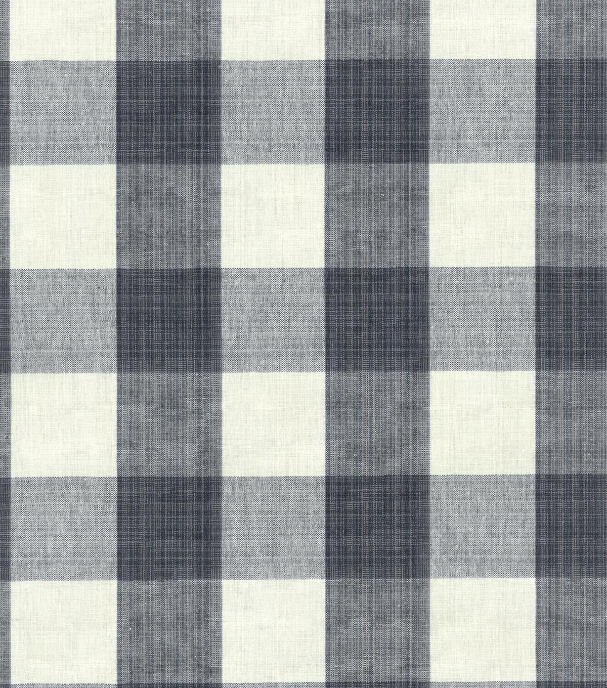 Williamsburg Upholstery Fabric 54\u0022-Stratford Check/Licorice