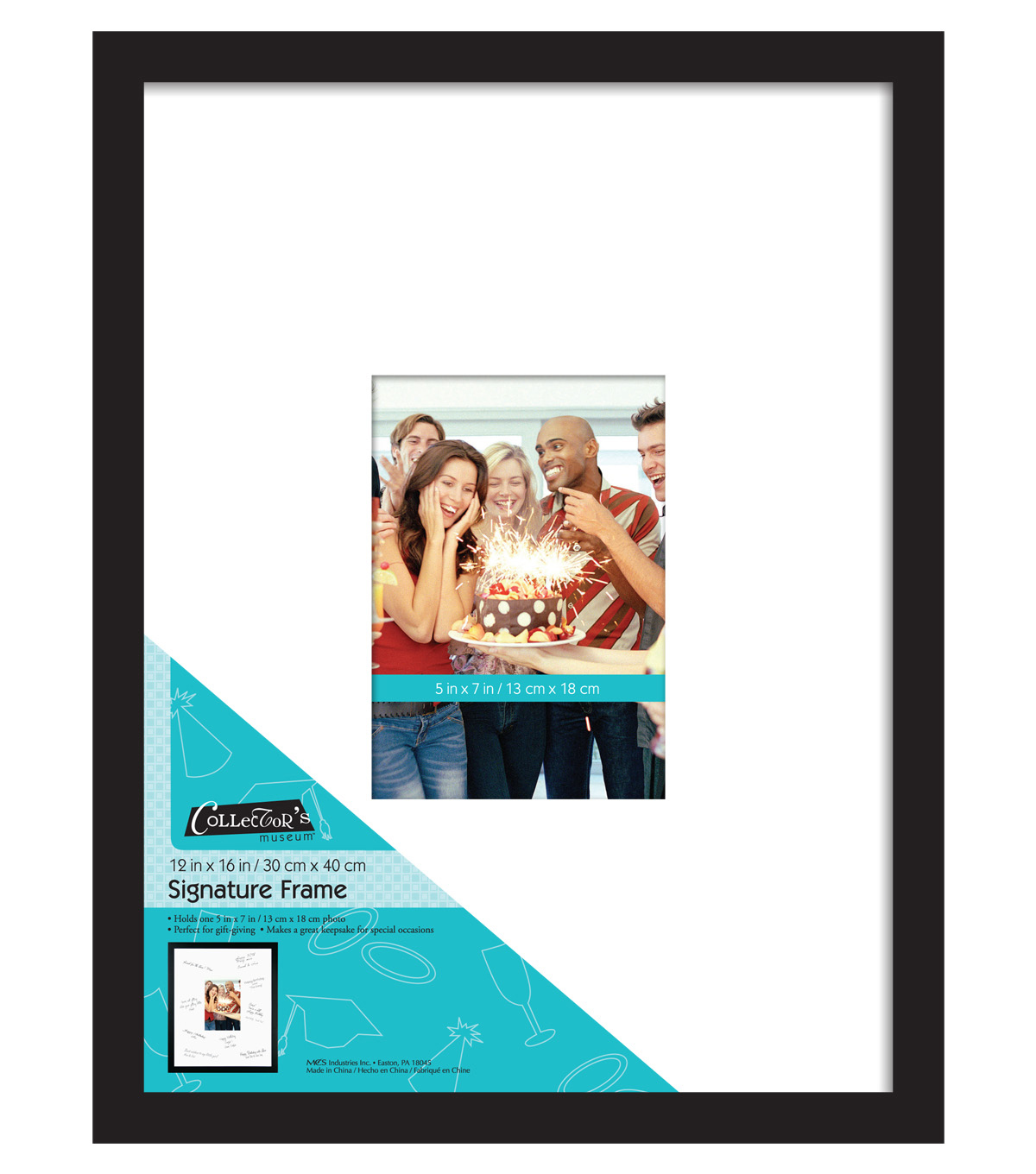 Signature Frame 12x16 to 5X7-Black