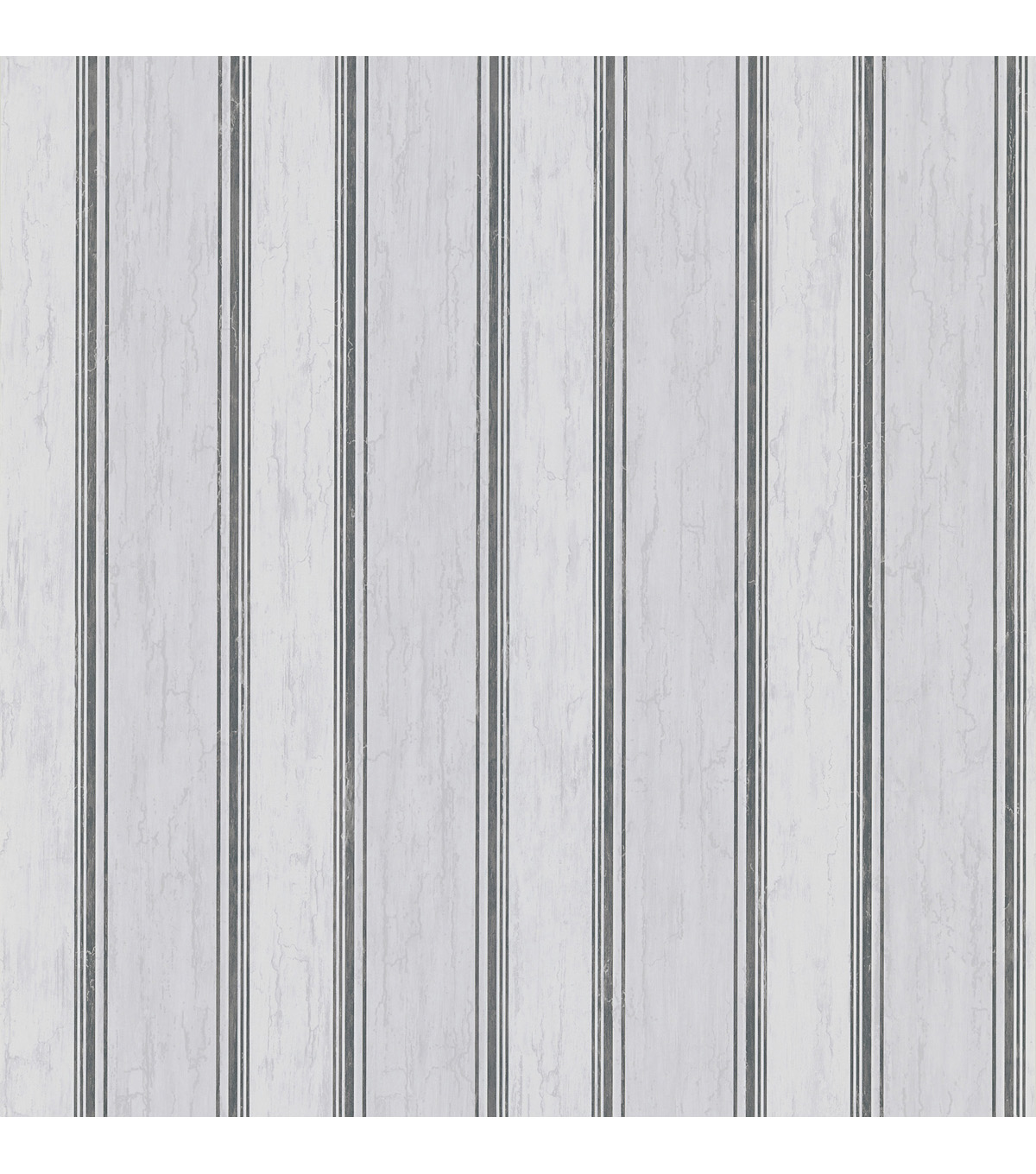 Farmington Grey Wood Stripe Wallpaper Sample