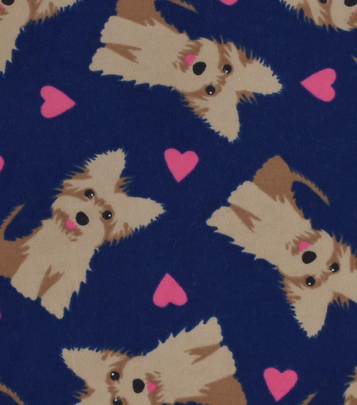 Snuggle Flannel Fabric 42''-Scottish Terriers