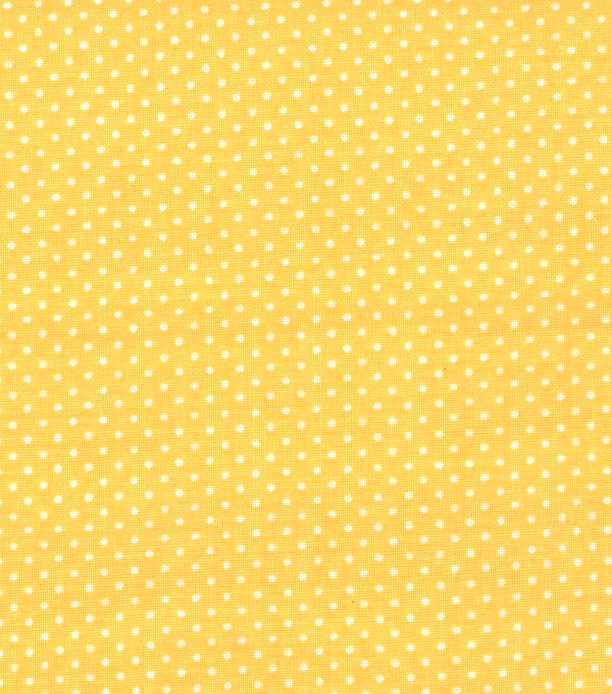 Quilter\u0027s Showcase™ Cotton Fabric 44\u0022-Pin Dot Yellow