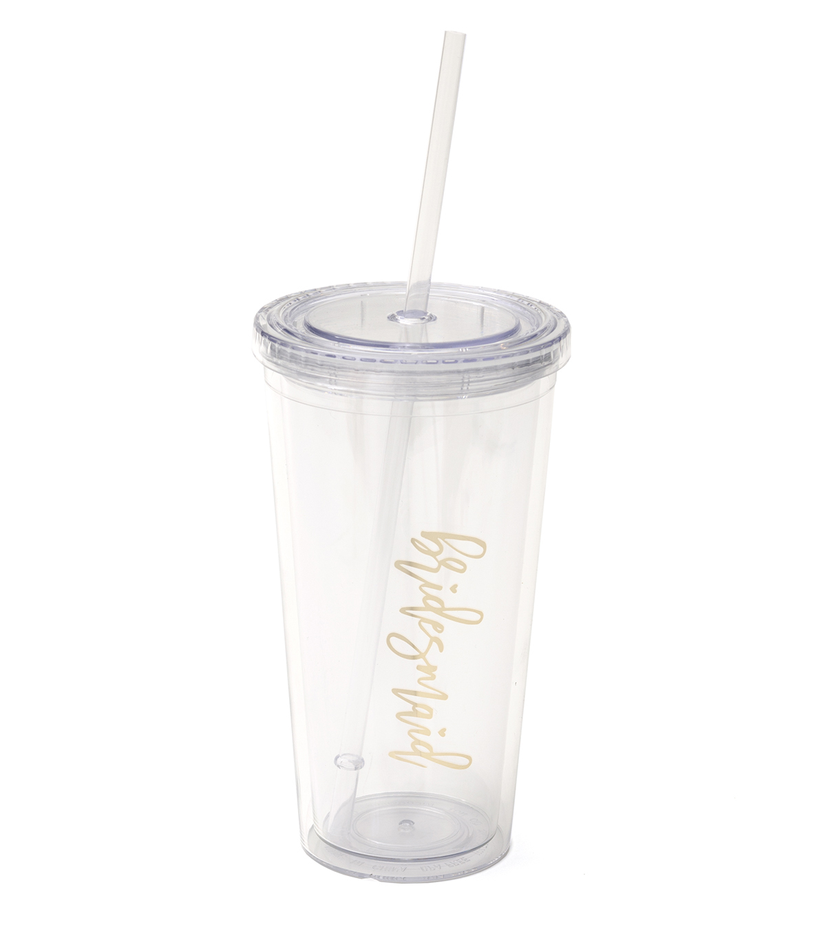 Save The Date™ Tumbler-Gold Bridesmaid