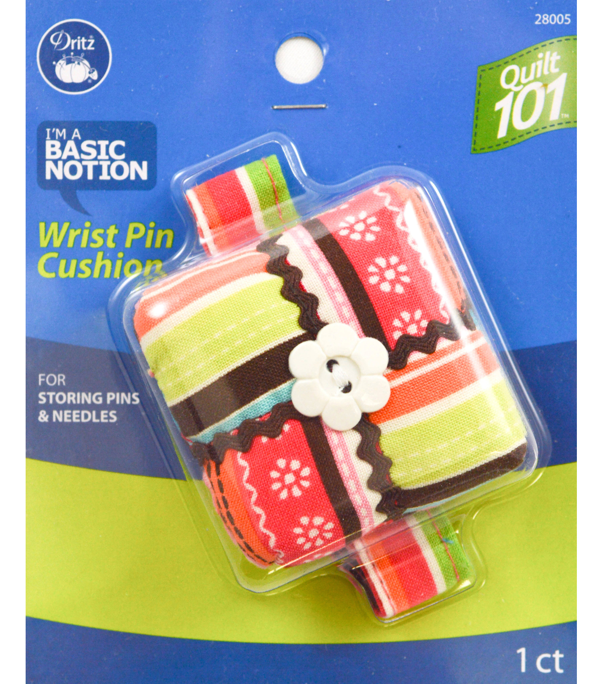 Dritz Quilt 101 Wrist Pin Cushion