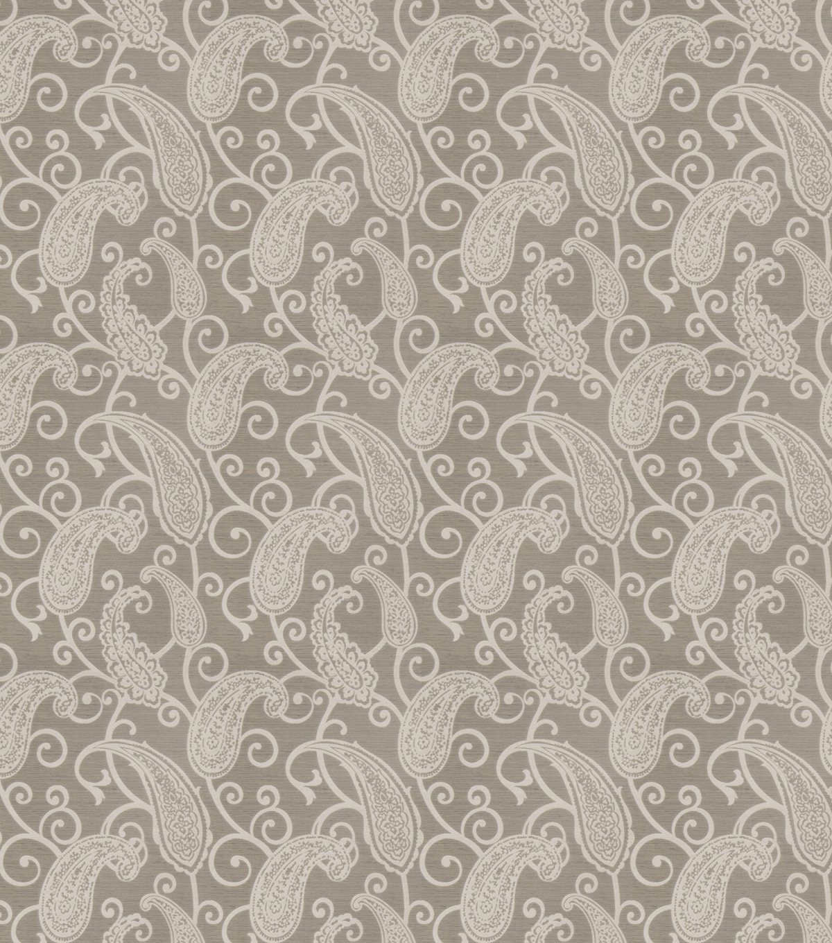 Eaton Square Print Fabric-Nebraska/Soft Grey