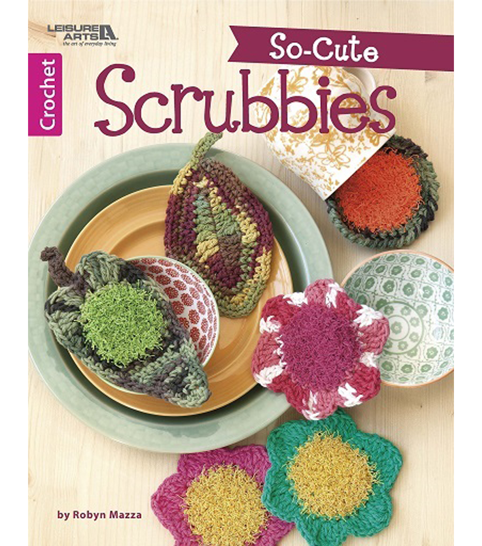 So-Cute Scrubbies Crochet Book
