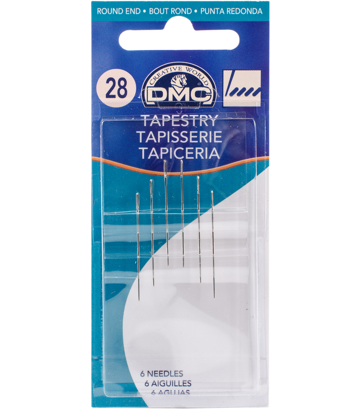 DMC Tapestry Hand Needles Size 28