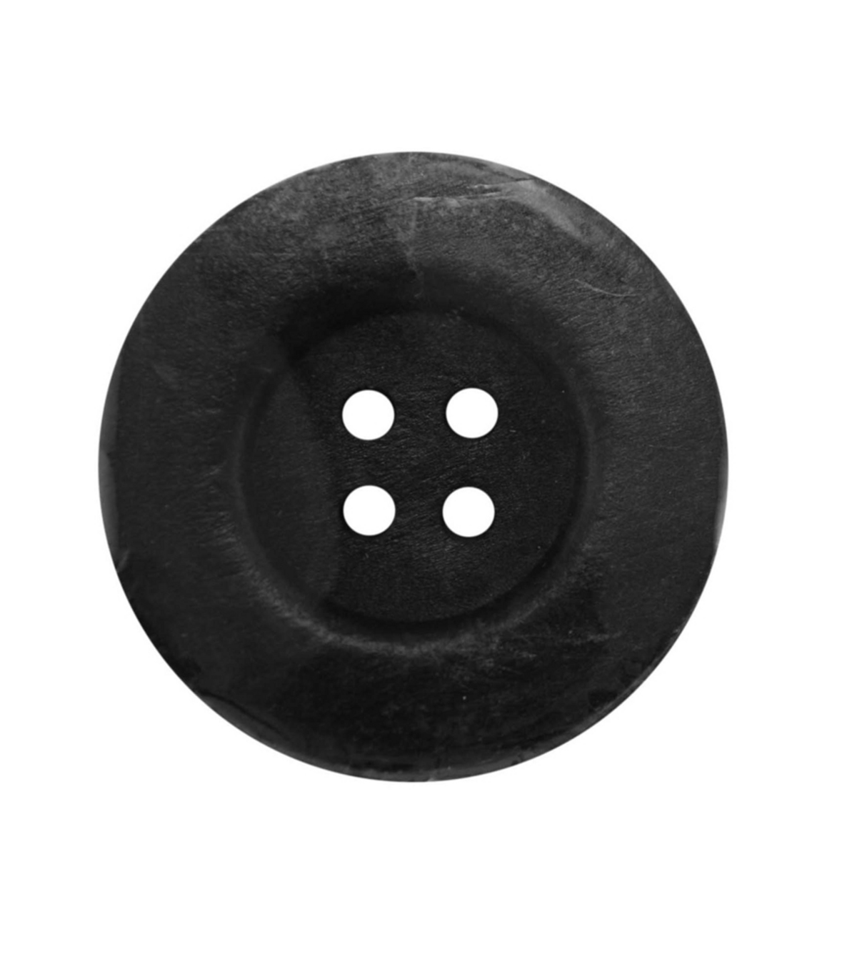 Everything Mary Black 2.25\u0022 XL Wooden Button