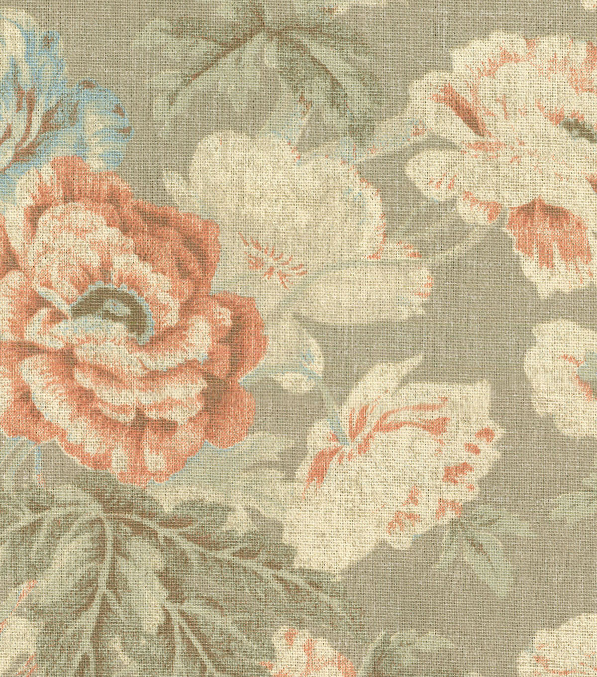 Home Essentials Upholstery Fabric 45\u0027\u0027-Parchment Among the Roses