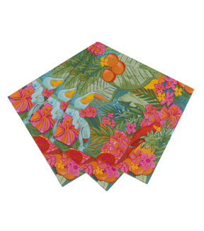 Tropical Fiesta Napkins 20pk