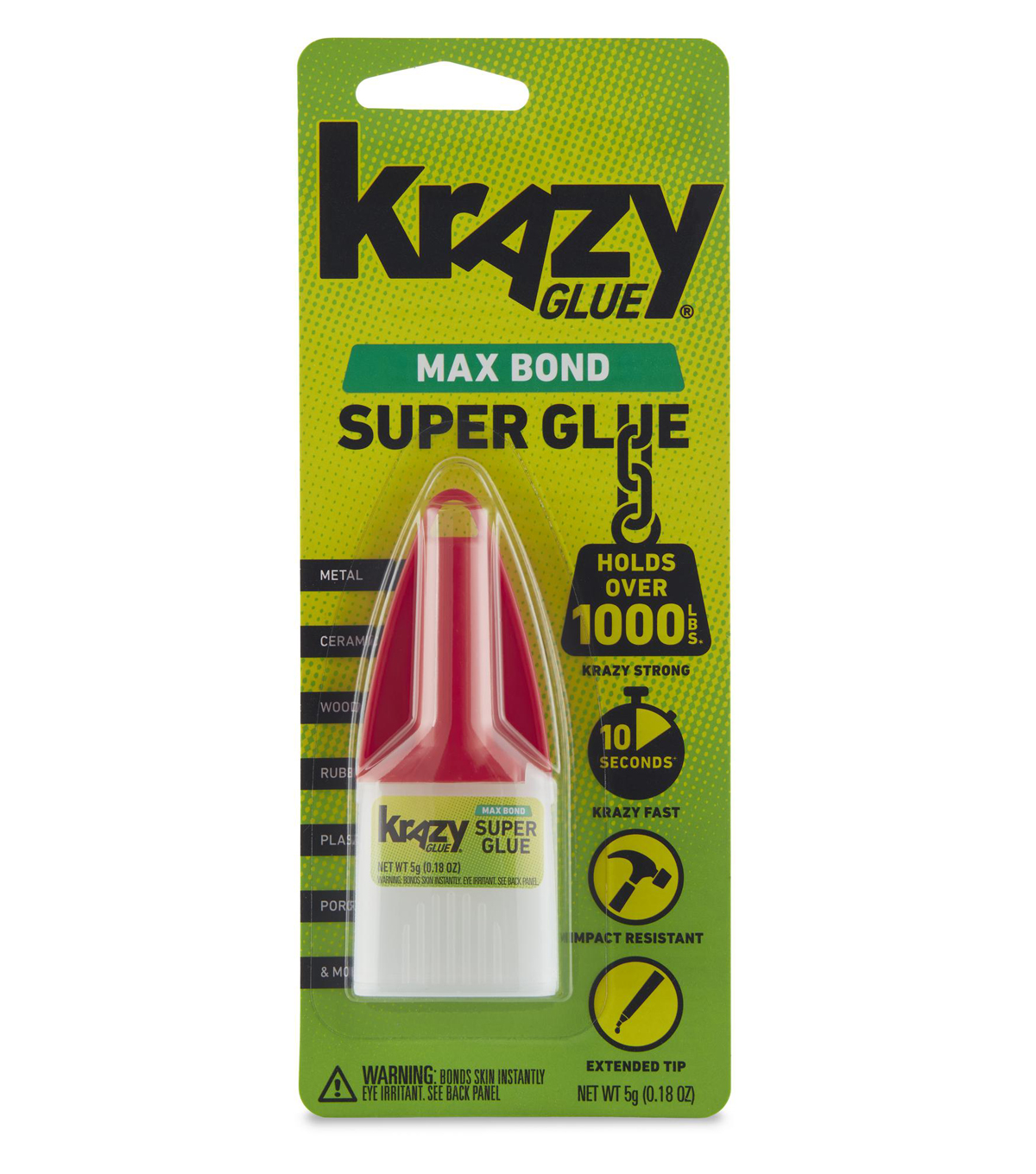 Elmer\u0027s Krazy Glue Maximum Bond-.18 Ounce