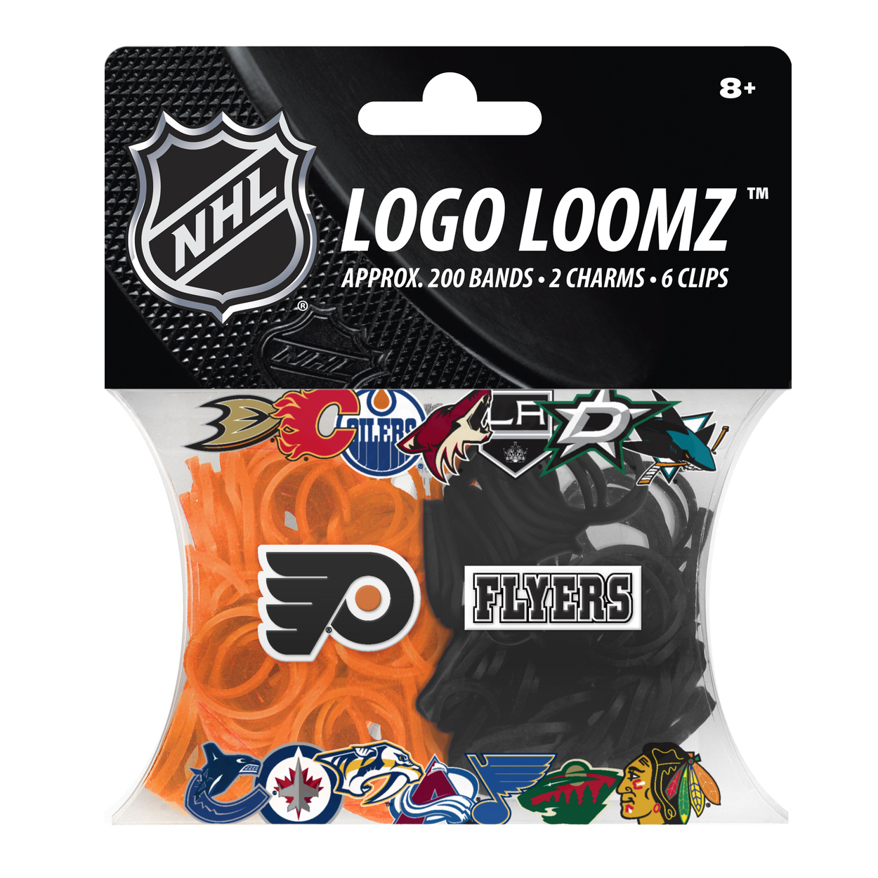 Philadelphia Flyers Logo Loomz Filler Pack by Forever Collectibles