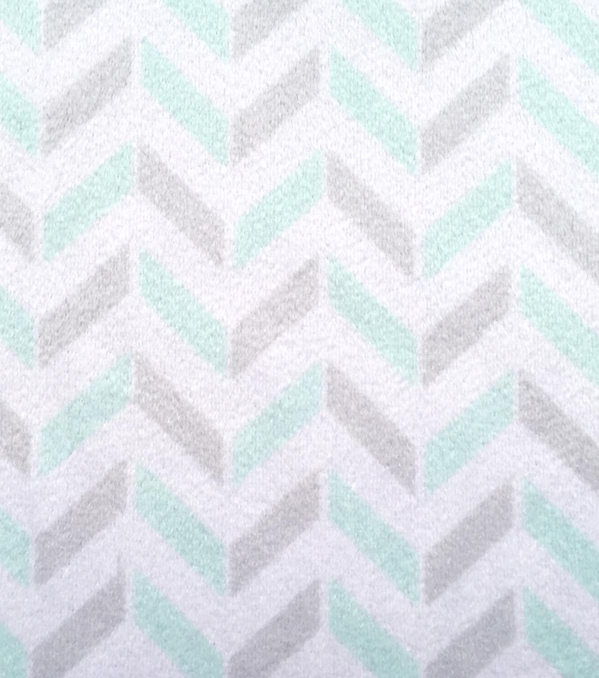 Magic Moon Nursery Fabric 58\u0022-Night Owl Chevron