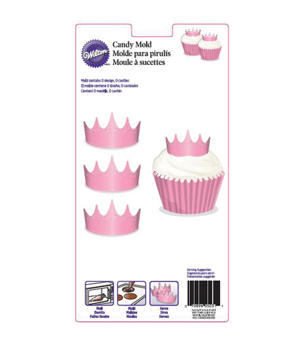 Wilton® Candy Mold-Crown