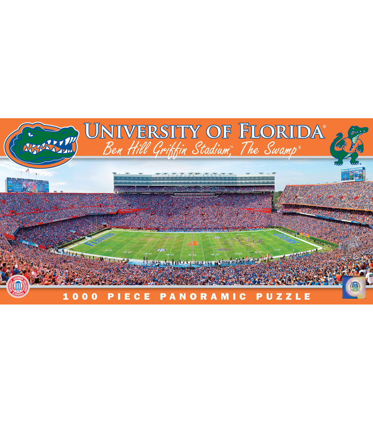 University of Florida Master Pieces  Panoramic Puzzle