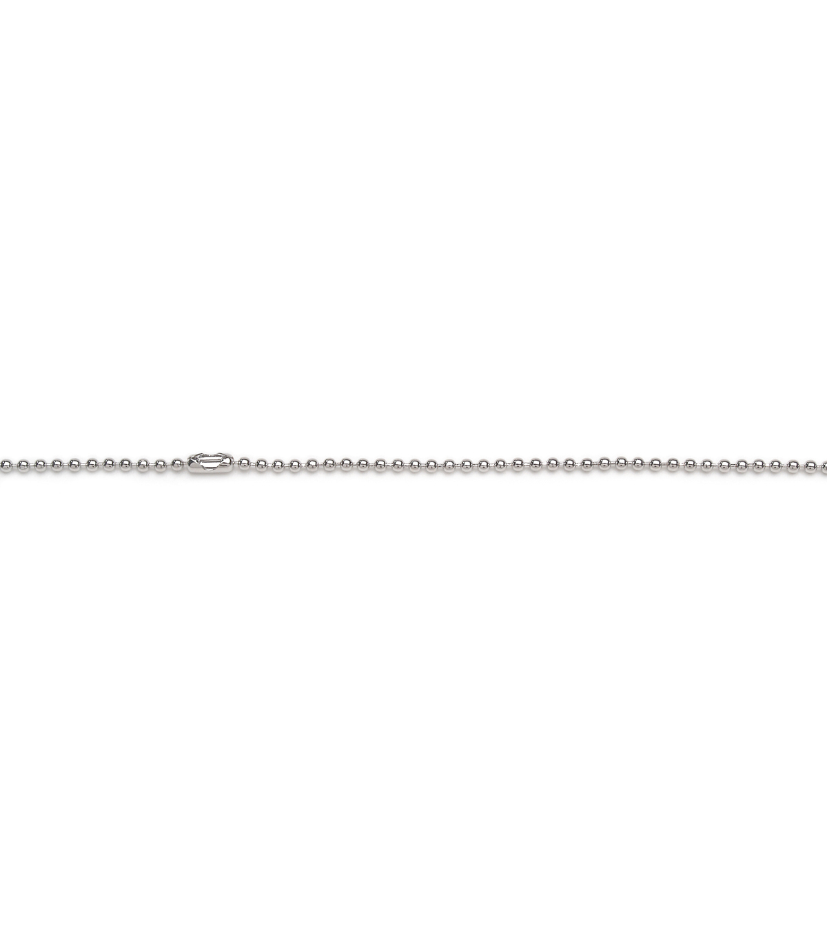 1Mm Ball Chain 24 Inch Nickel