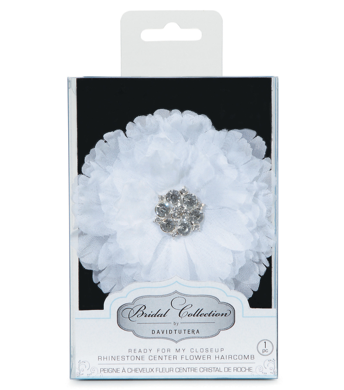 David Tutera Petal Flower Comb