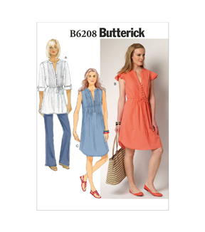 Butterick Misses Dress-B6208