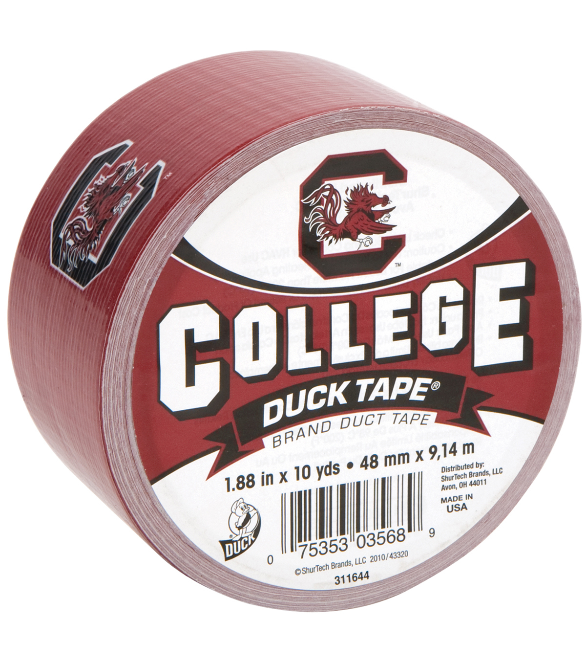 Duck Tape College Logo S. Carolina