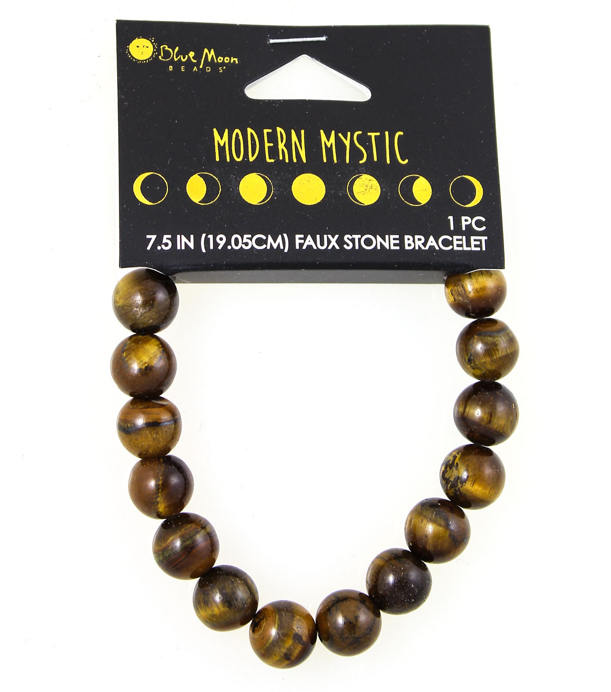 Blue Moon Beads® Modern Mystic Faux Tiger Eye Stone Bracelet