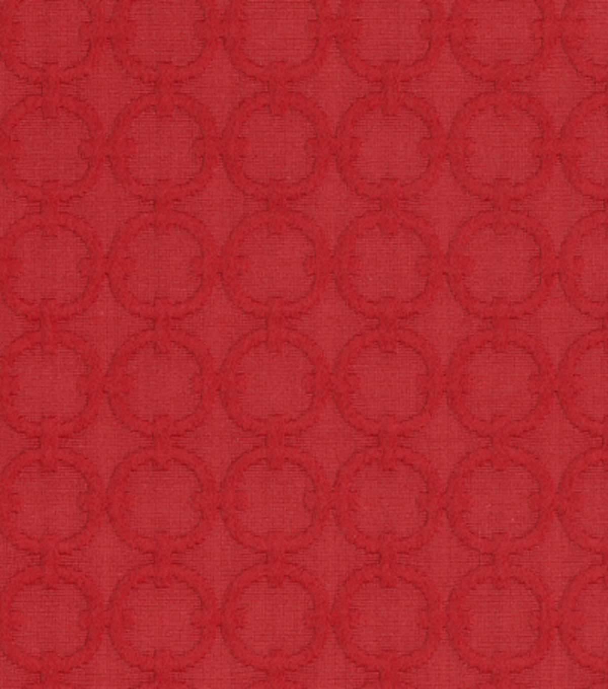 Home Decor 8\u0022x8\u0022 Fabric Swatch-Upholstery Fabric-Waverly Full Circle/Red Buoy