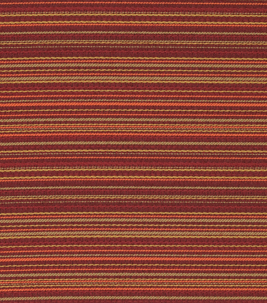 Home Decor 8\u0022x8\u0022 Fabric Swatch-Crypton Stitch Outdoor Woven Stripe-ketchup
