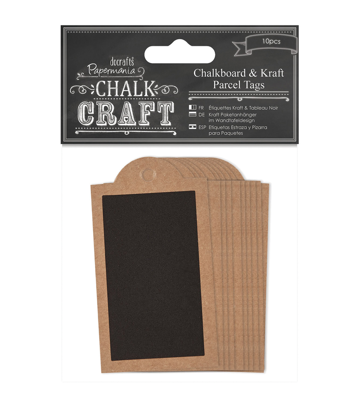 Papermania Chalk Craft Chalkboard & Craft Parcel Tags